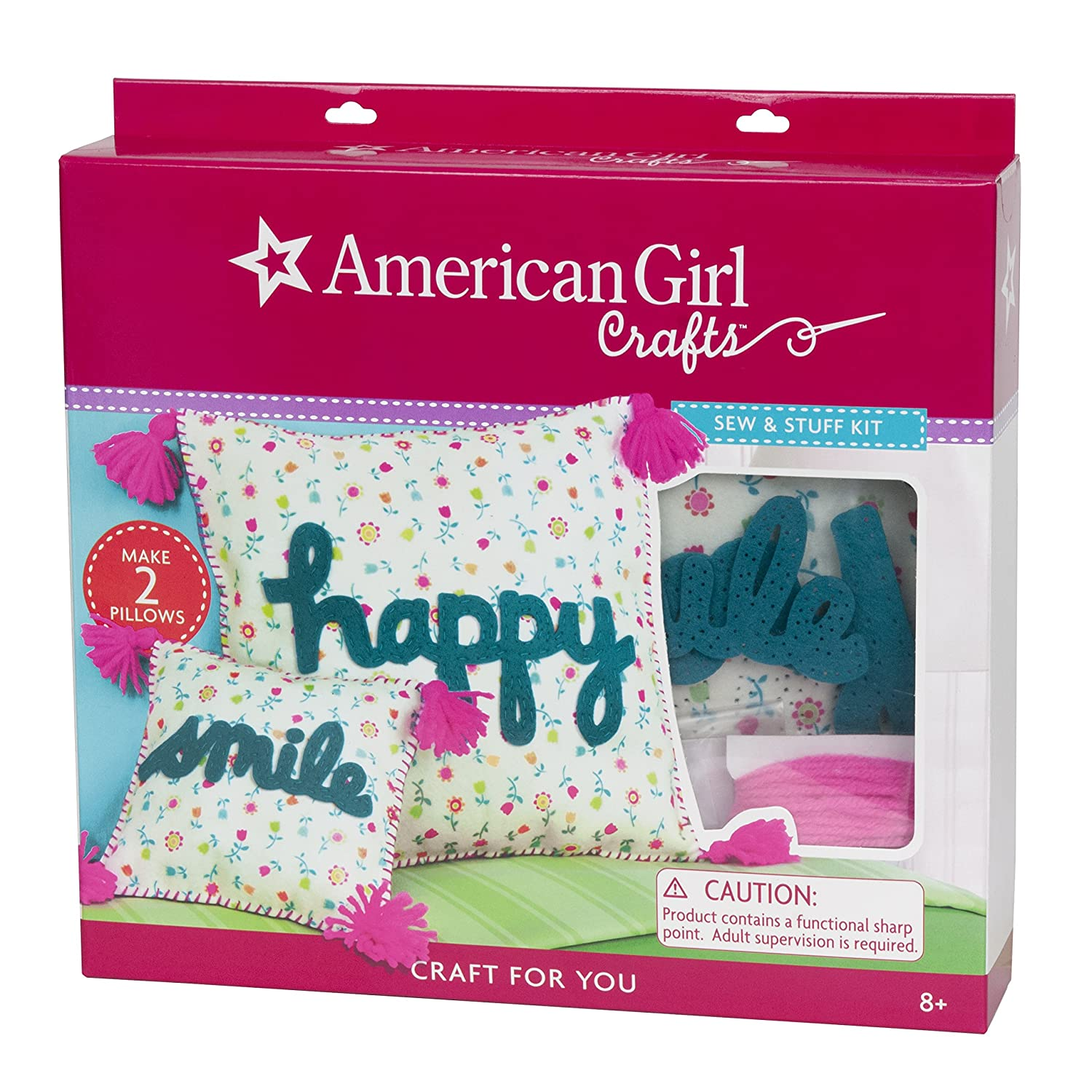 Amazon Com American Girl Crafts Sew And Stuff Diy Pillow