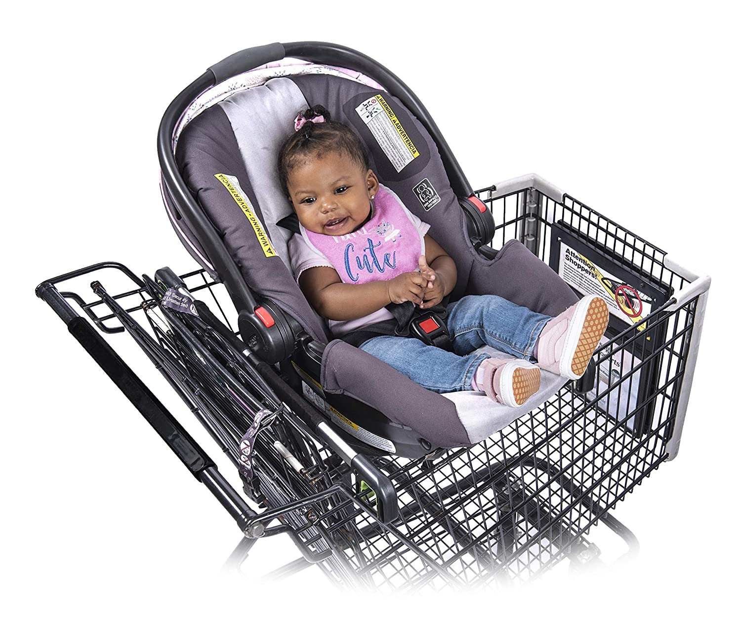 Shopping Cart Hammock For Infants Carrying Babies In Grocery Carts Binxy Baby