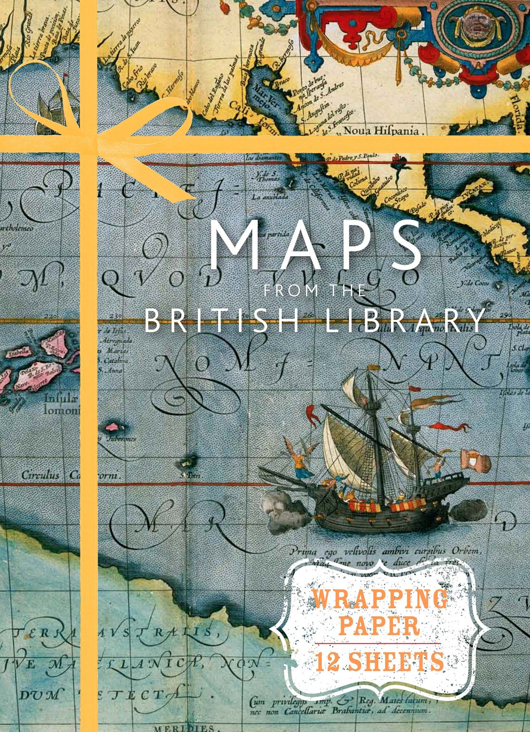 Download Maps from the British Library: Wrapping Paper Book (Wrapping Paper Books) PDF