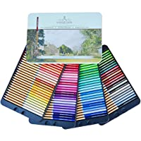 SCHPIRERR FARBEN 96 Color Pencil Set Professional Named & Numbered, Oil Based Soft...