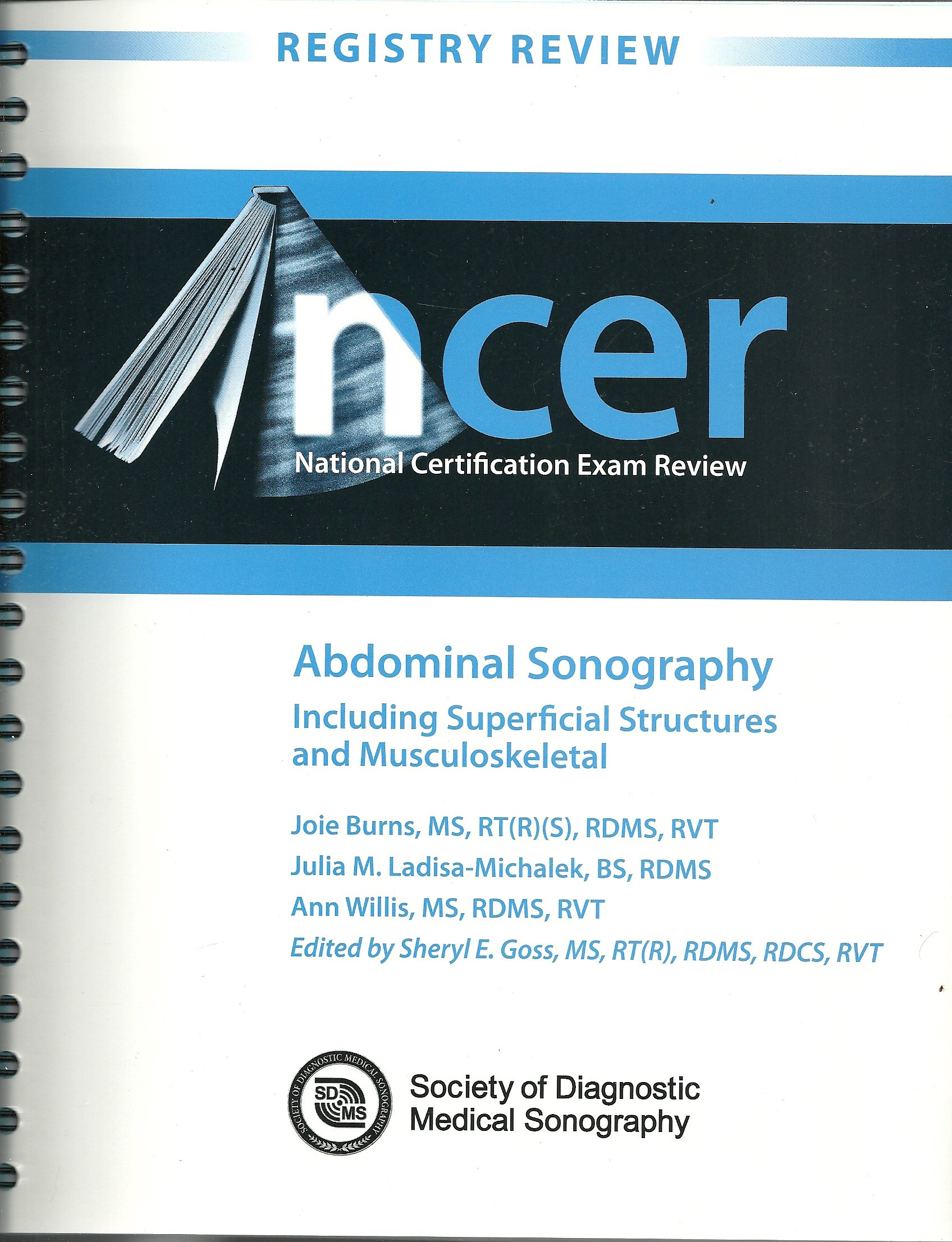 National Certification Exam Review Abdominal Sonography Hardcover