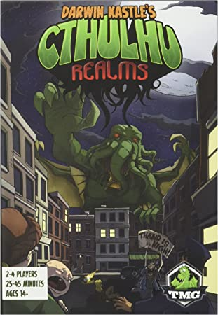 Amazon.com: Cthulhu Realms Junta Juego: Toys & Games
