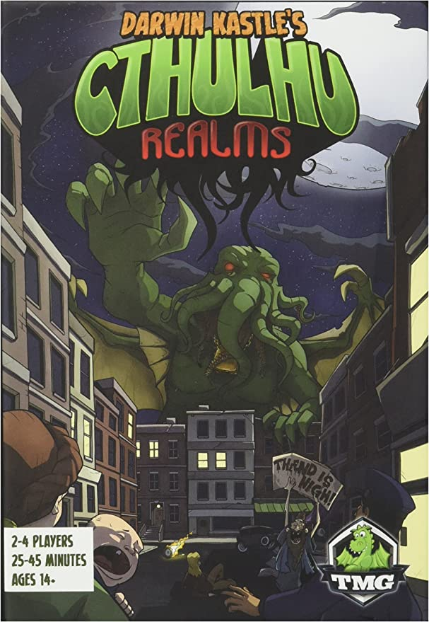 Tasty Minstrel Games Cthulhu Realms - Card Board Game - English: Amazon.es: Juguetes y juegos