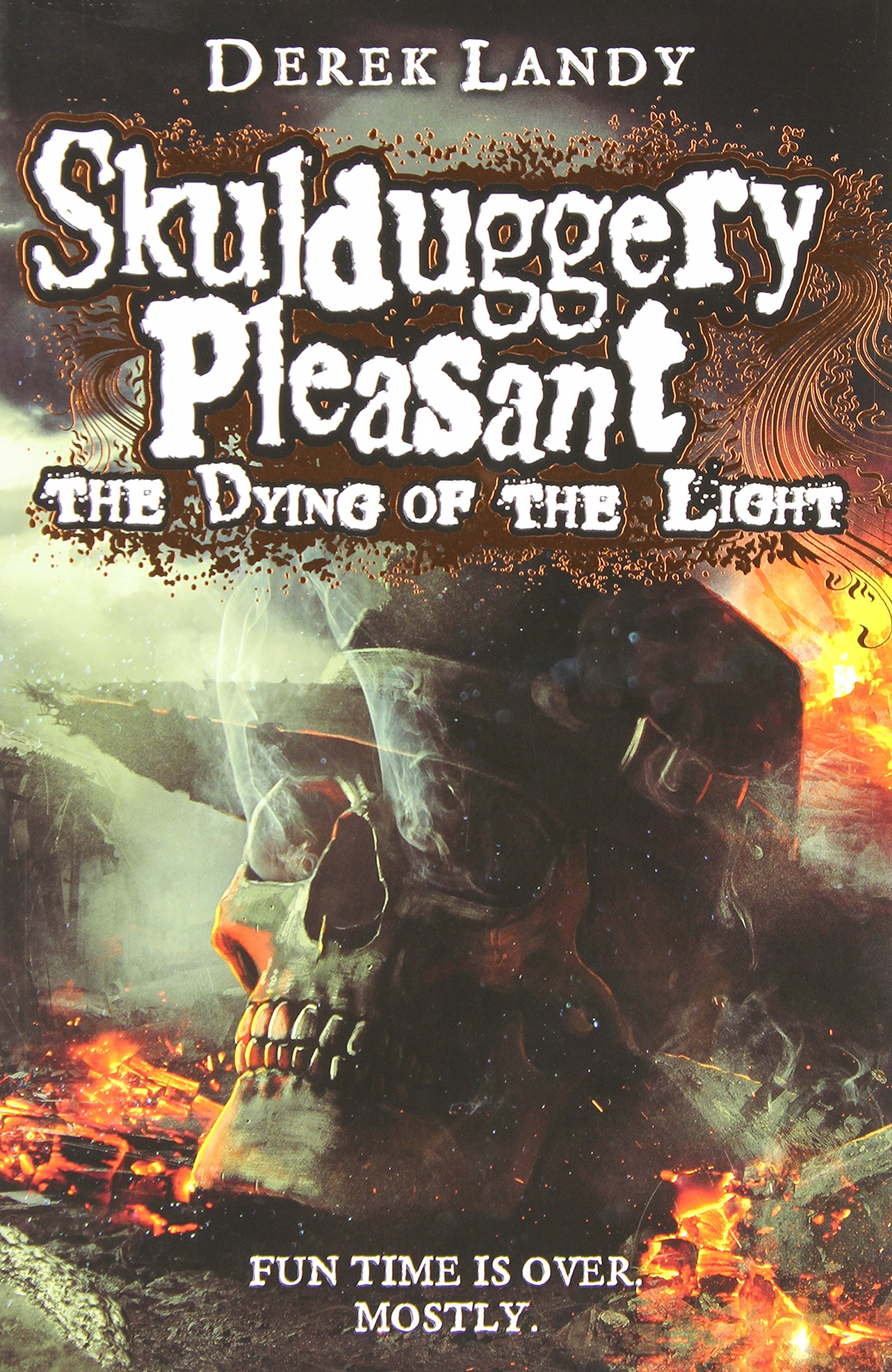 The Dying of the Light (Skulduggery Pleasant, Band 9)