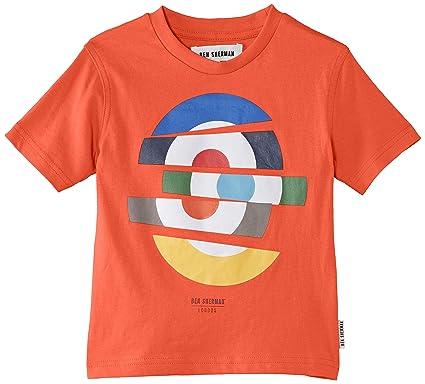 c2b74a6b Ben Sherman Boy's Cut Target T-Shirt, Orange (Deep Coral), 3-4 Years ...