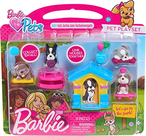 Barbie Just Mascotas Jugar Set Dog Parque Multicolor Toys Games