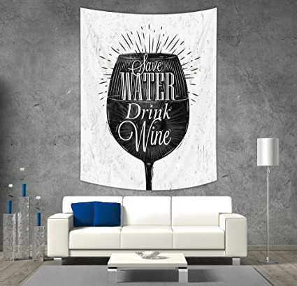 Amazing Amazon Com Iprint Polyester Tapestry Wall Hanging Kitchen Download Free Architecture Designs Grimeyleaguecom