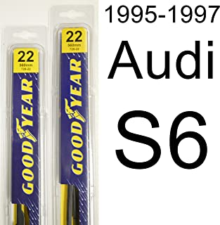 "product image for Audi S6 (1995-1997) Wiper Blade Kit - Set Includes 22"" (Driver Side), 22"" (Passenger Side) (2 Blades Total)"