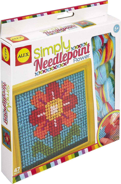"""Simply needlepoint"" needlepoint kit."