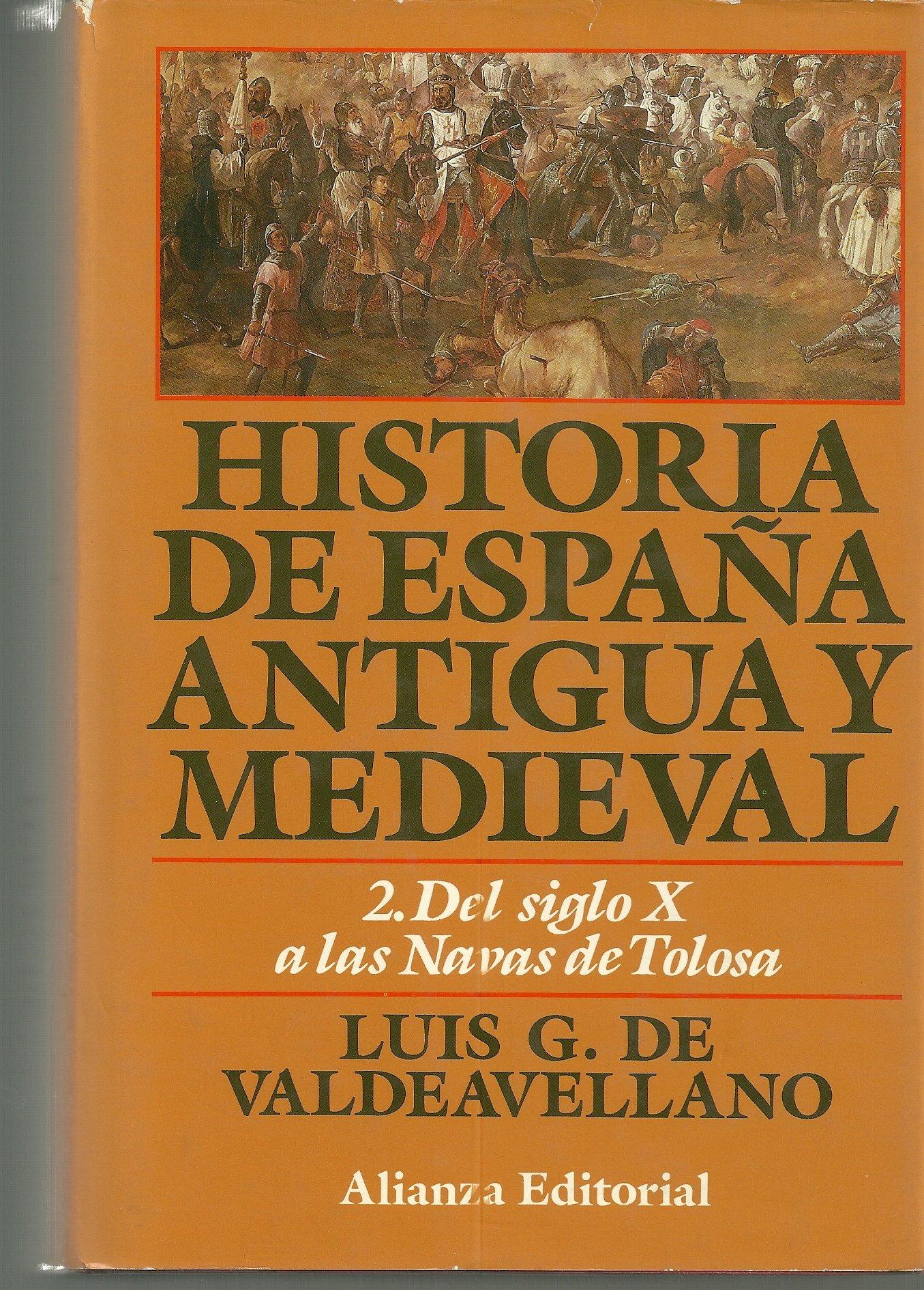 Historia de España antigua y medieval.; t.2: Amazon.es: Valdeavellano, Luis G.: Libros
