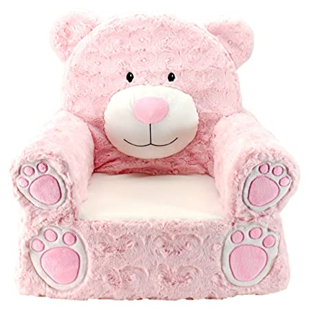 Pleasant Animal Adventure Sweet Seats Character Chair Pink Bear Unemploymentrelief Wooden Chair Designs For Living Room Unemploymentrelieforg