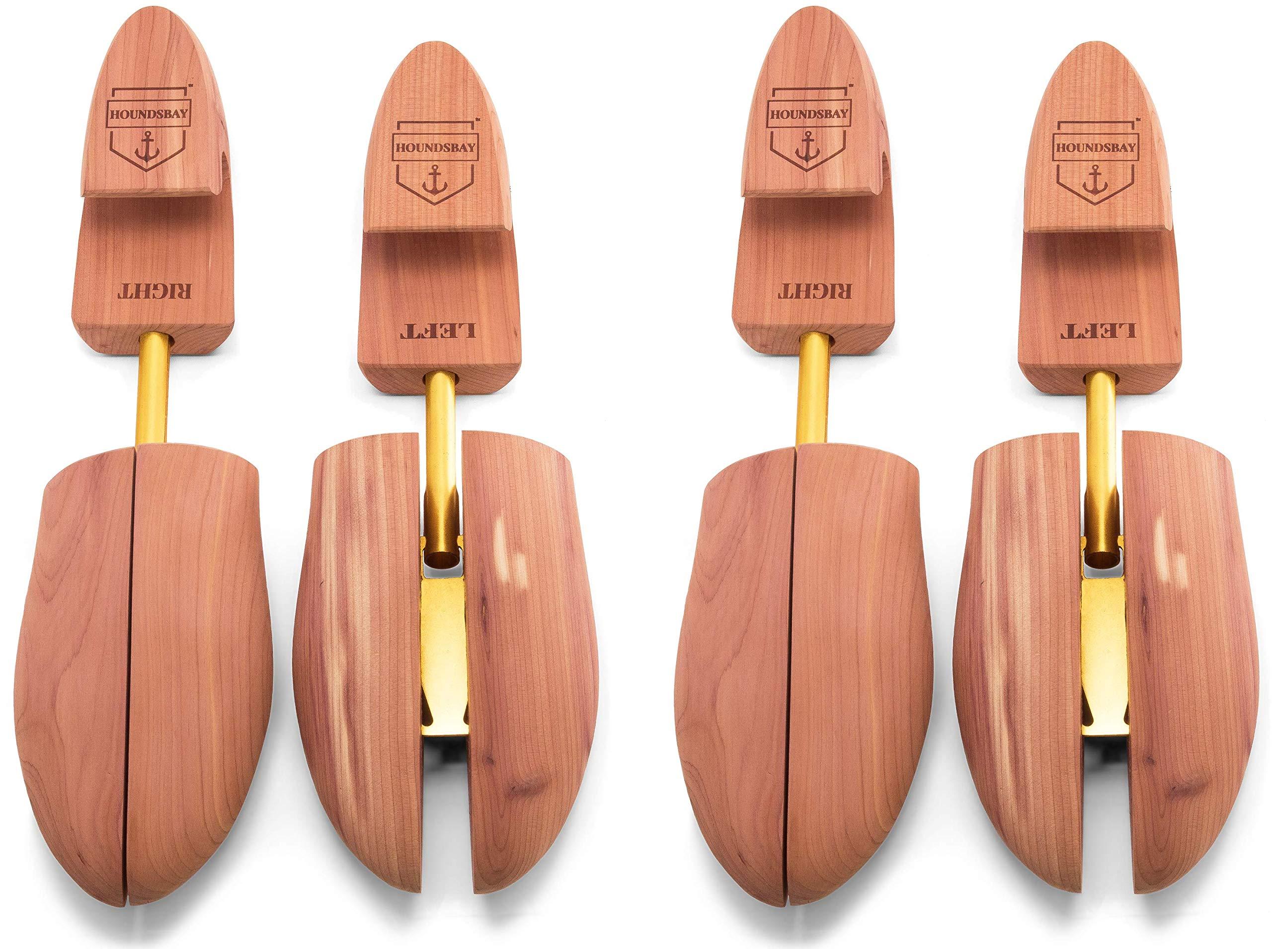 Hormas de Cedro para Zapatos de Hombre HOUNDSBAY [2 Pares]