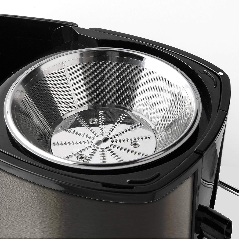 Black+Decker BXJE600E Licuadora, 600 W, Acero Inoxidable, Gris ...