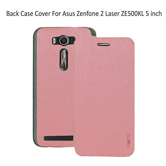 cheap for discount 6157a 7749c Heartly Luxury PU Leather Flip Stand Back Case Cover for Asus Zenfone 2  Laser ZE500KL 5 inch - Cute Pink