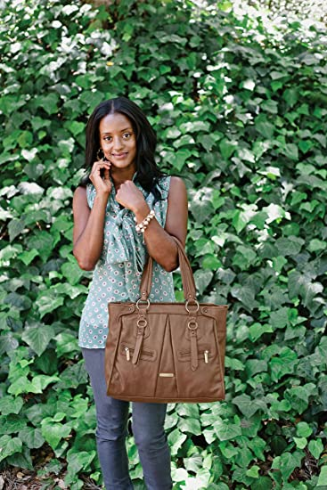 Amazon.com: Timi & Leslie Dawn Diaper Bag Set - Caramel: Sports & Outdoors