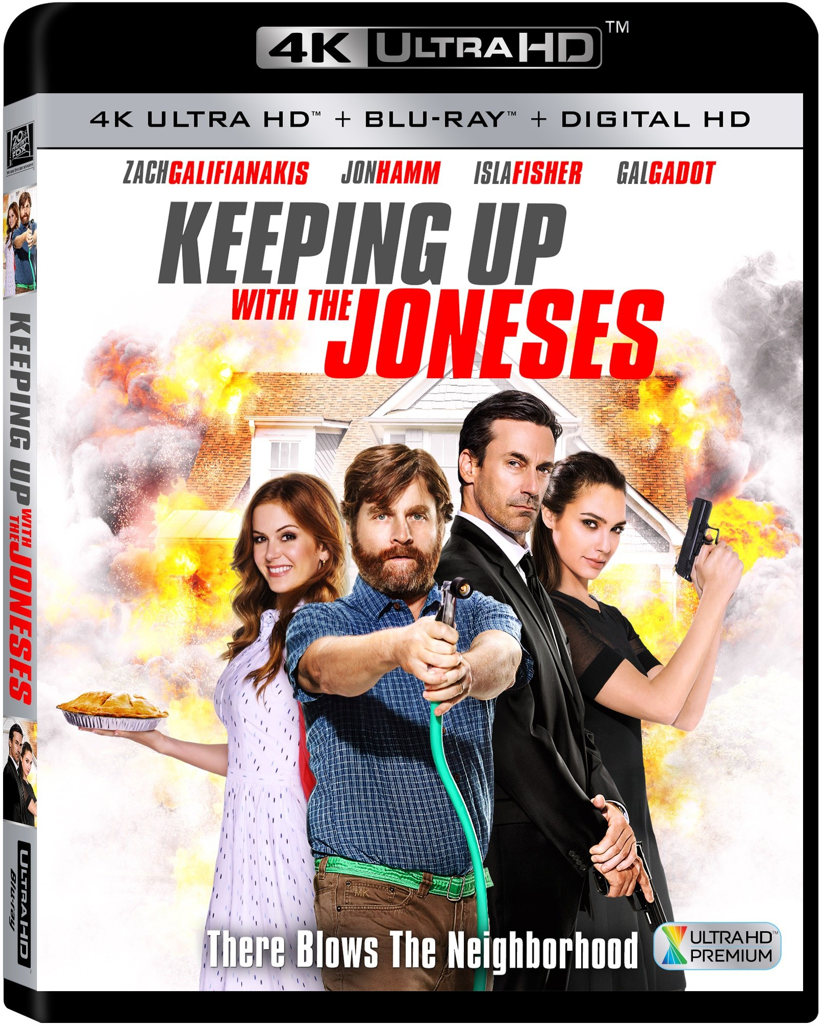 4K Blu-ray : Keeping Up With The Joneses (4K Mastering, Dubbed, , Digital Theater System, Dolby)