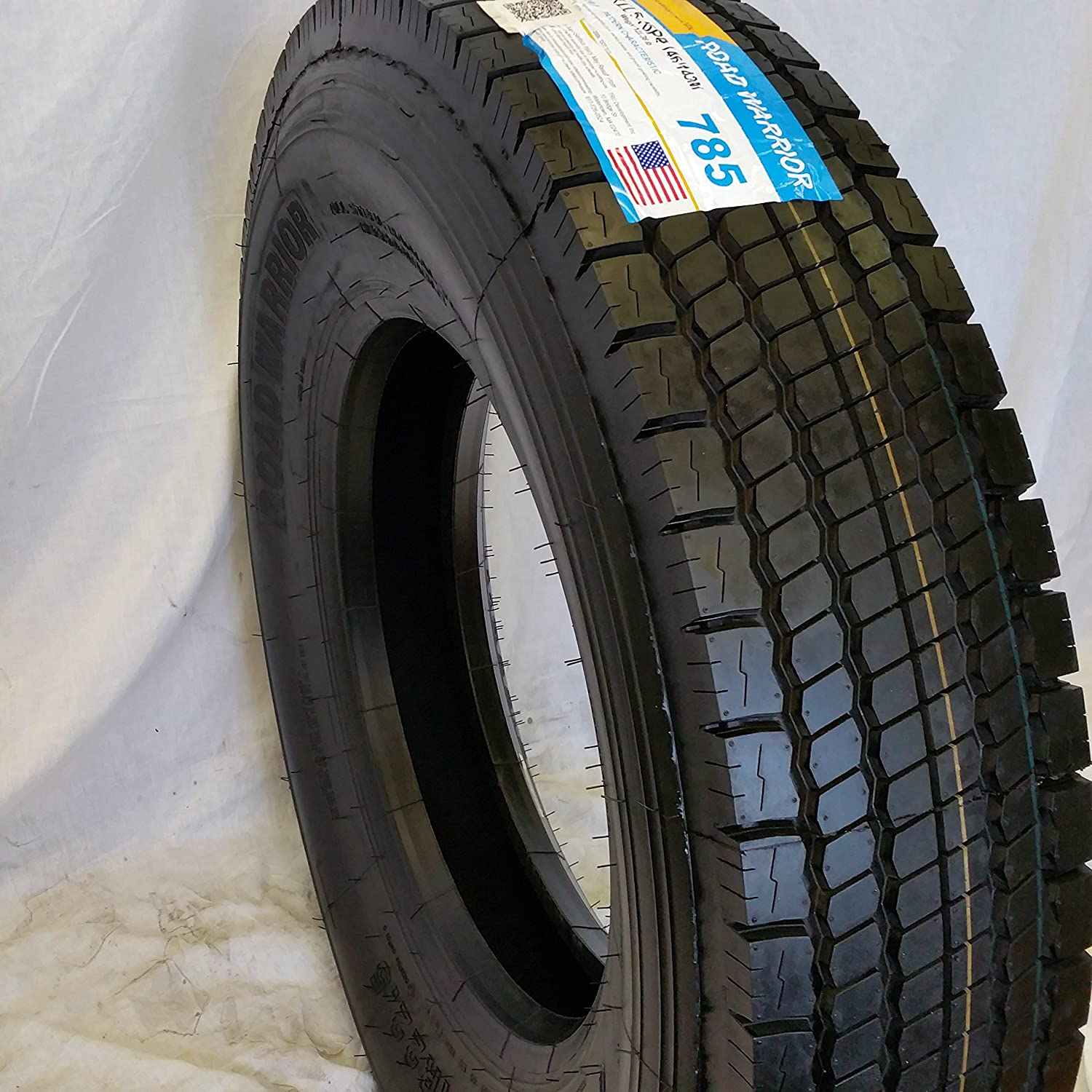 (4- TIRES) 11R22.5 ROAD WARRIOR NEW DRIVE TIRES 16 PLY - PREMIUM QUALITY TRU DEVELOPMENT INC