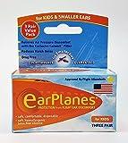 Original Children's EarPlanes by Cirrus Healthcare Ear Plugs Airplane Travel Ear Protection 3 Pair BONUS VALUE PACK