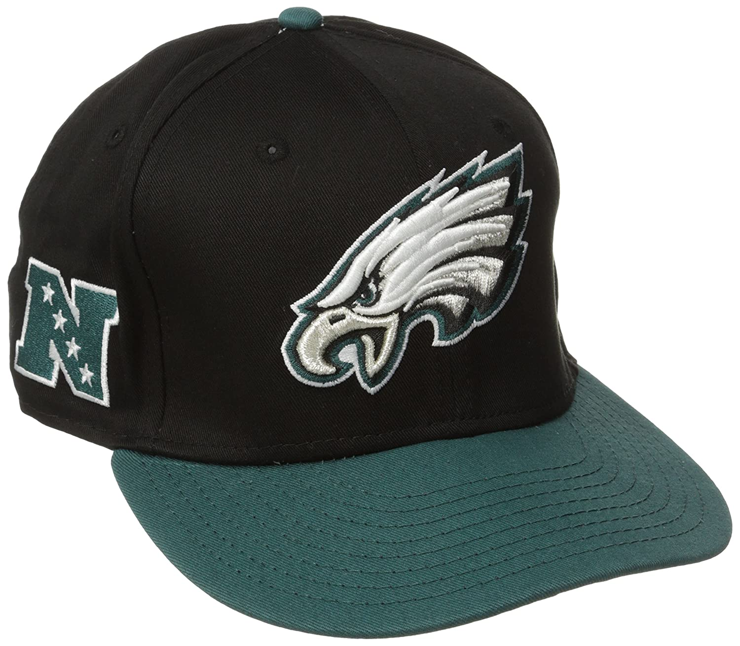 f121a56b0ac Amazon.com   NFL Philadelphia Eagles Baycik 9Fifty Snapback Hat   Sports  Fan Baseball Caps   Clothing