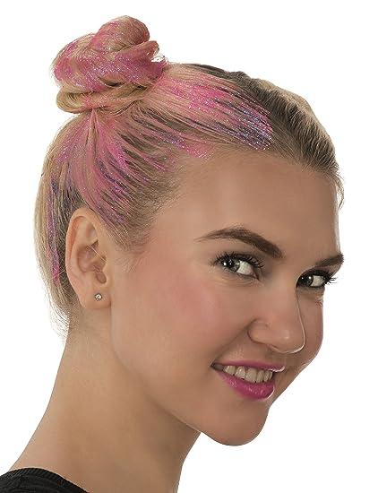 Amazon Com Rubie S Glitter Hair Gel Costume Makeup Pink