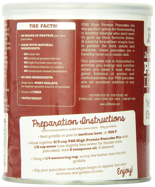 amazon com p28 foods the original high protein pancake dry mix