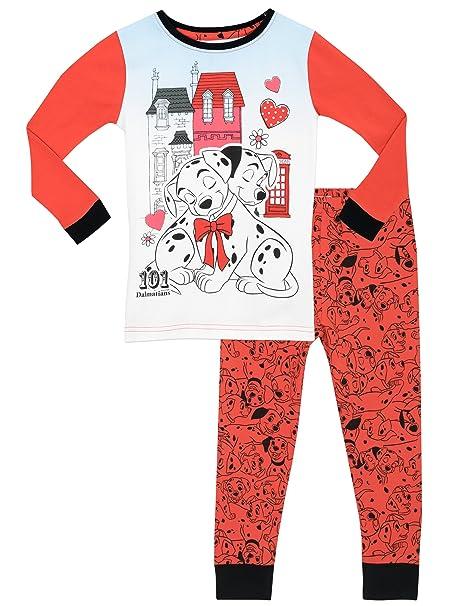 101 Dálmatas - Pijama para niñas - 101 Dalmatian - Ajuste Ceñido - 18 - 24