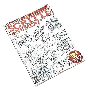 Tattoo Fash Book Schrift Und Zahlen Skizzenbuch Amazon De Kuche