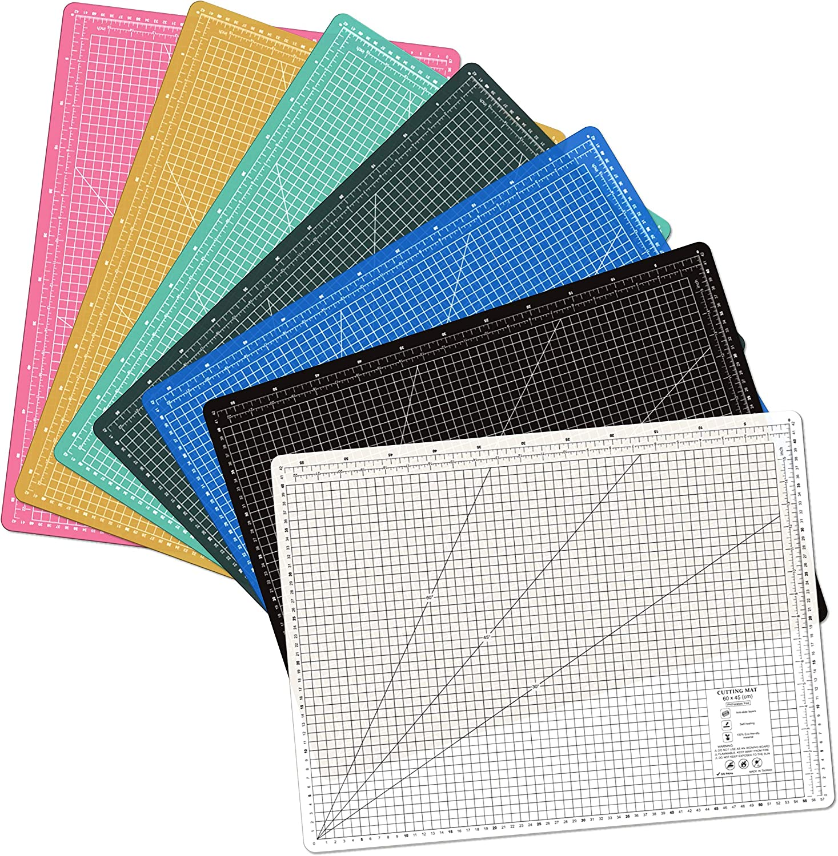 Self Healing Eco Friendly Colorful Cutting Mat Black A2 24L x 18W Inch 600 x 450 mm