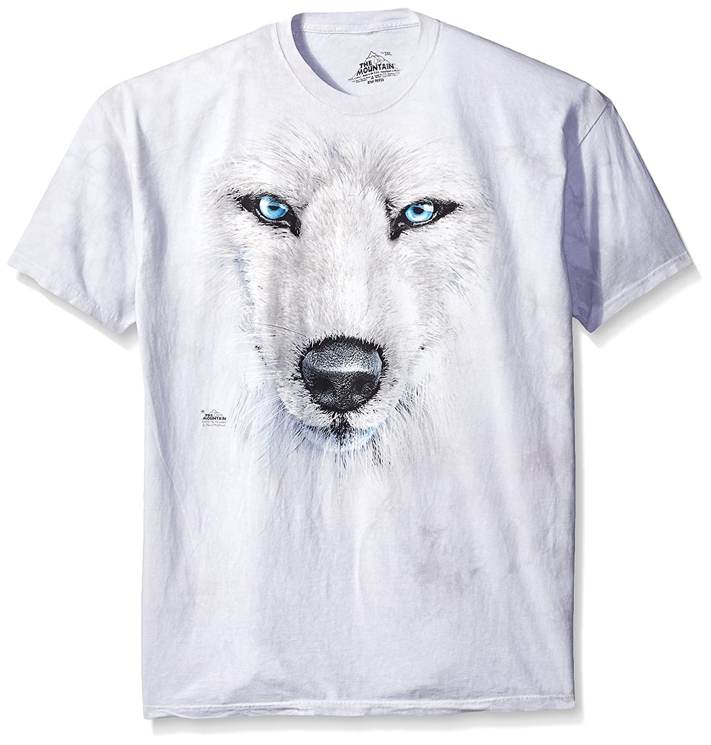 fafc2343ad86 The Mountain uses only environmentally friendly inks and dyes to bring you  a durable and comfortable top. Created