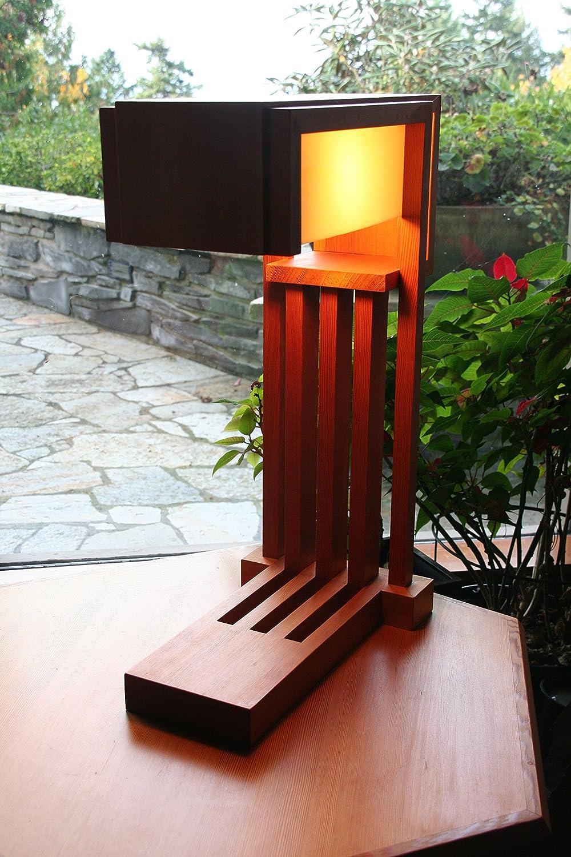 Amazon Com Craftsman Style Table Lamp Handmade