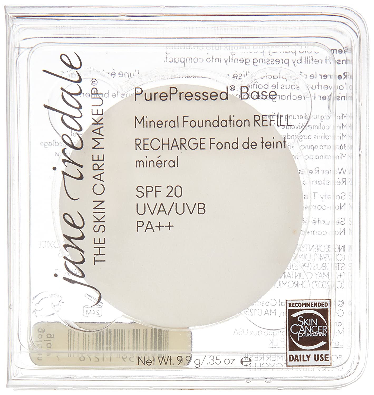 Amazon jane iredale purepressed base spf 20 mineral amazon jane iredale purepressed base spf 20 mineral foundation refill golden glow luxury beauty nvjuhfo Choice Image
