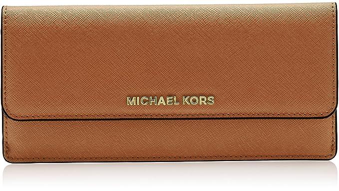 802d807e749a MICHAEL Michael Kors Jet Set Travel Slim Saffiano Leather Wallet ...