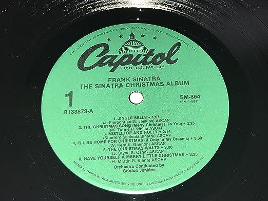 Frank Sinatra, Gordon Jenkins - The Sinatra Christmas Album ...