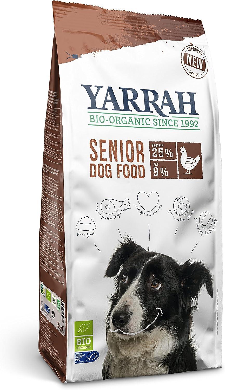 Senza Additivi Artificiali per Cani Adulti di Piccola Taglia 2 kg con Pesce MSC e Piselli Bio Yarrah Cibo Cecco Bio per Cani con Pollo