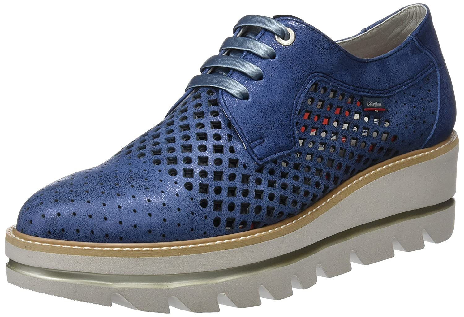 Party Line CALLAGHAN Scarpe Navy Blu Derby Donna Navy Stringate Adqqw56