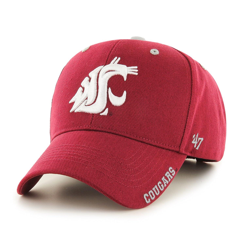 on sale b3265 ecd31 ... ireland amazon 47 ncaa clemson tigers frost mvp adjustable hat one size  cardinal sports outdoors 6e954