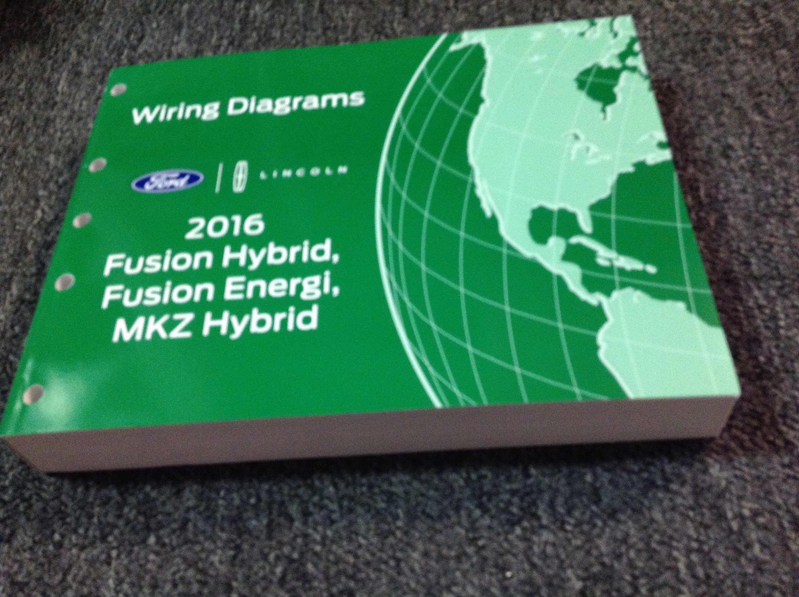 2016 ford fusion lincoln mkz wiring diagram manual original paperback – 2016