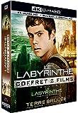 Coffret Le Labyrinthe 2 Films : Le Labyrinthe ; La Terre Brûlée 4k Ultra Hd [blu-ray]