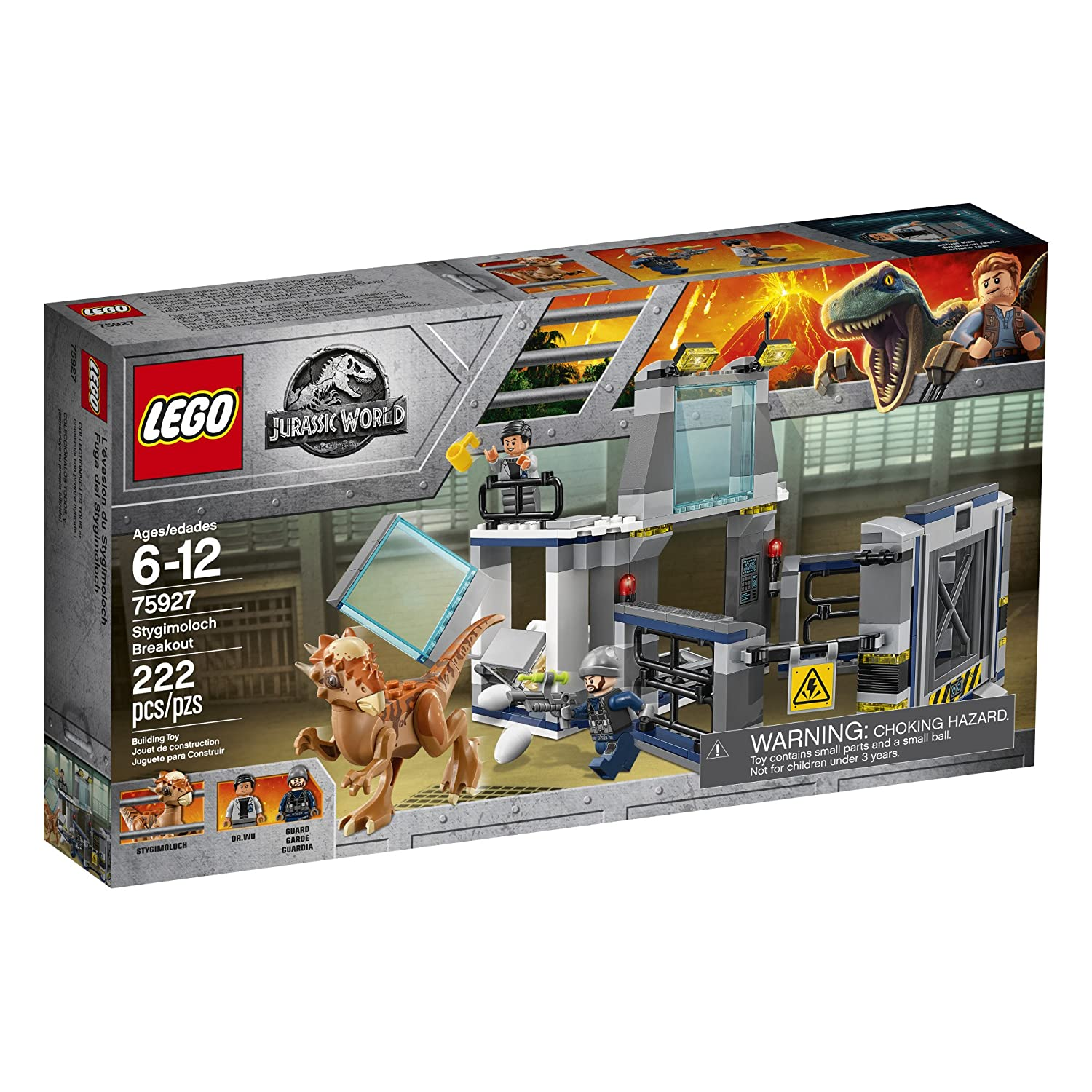 Lego jurassic world fallen kingdom sets available on - Jurasic park lego ...