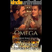 der aufgedrehte Omega: Ein Alpha Omega M-Preg Liebesroman ohne Formwandlung (Oak Grove 6) (German Edition) book cover