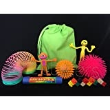 Pheebsters Sensory Toy fidget Kit / Fiddle Toy Bag - Autism, Special Needs, ASD, SEN, ADHD, SPD