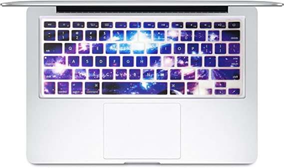 Color Nebula Keyboard Cover Silicone Skin Protector for MacBook Air Pro13 15 17