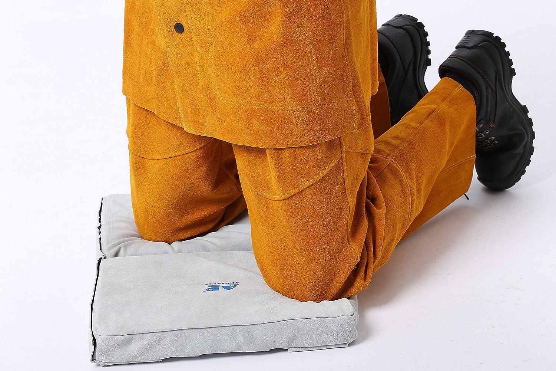 AP-6642 full split cowhide leather folded FR welding mat wuzhou ally protect co. ltd