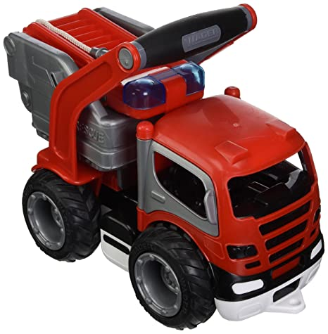 01ca49b718c Amazon.com: Wader Grip Fire Engine Toy for Kids, Durably Designed ...