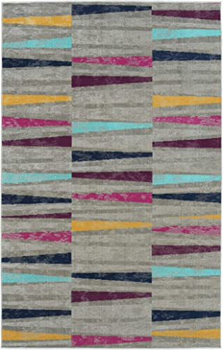 Kaleen 9 3 x 12 Area Rug in Multi-Color, Indoor Outdoor Zuma Beach Collection