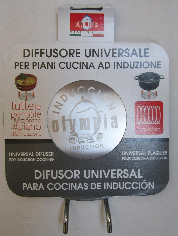 Amazon.com: Olympia placa inducción difusor de calor de 6.5 ...
