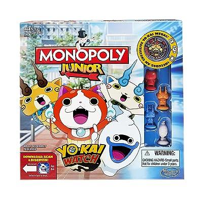 Hasbro B6494 Monopoly Junior: Yo-kai Watch Edition: Toys & Games