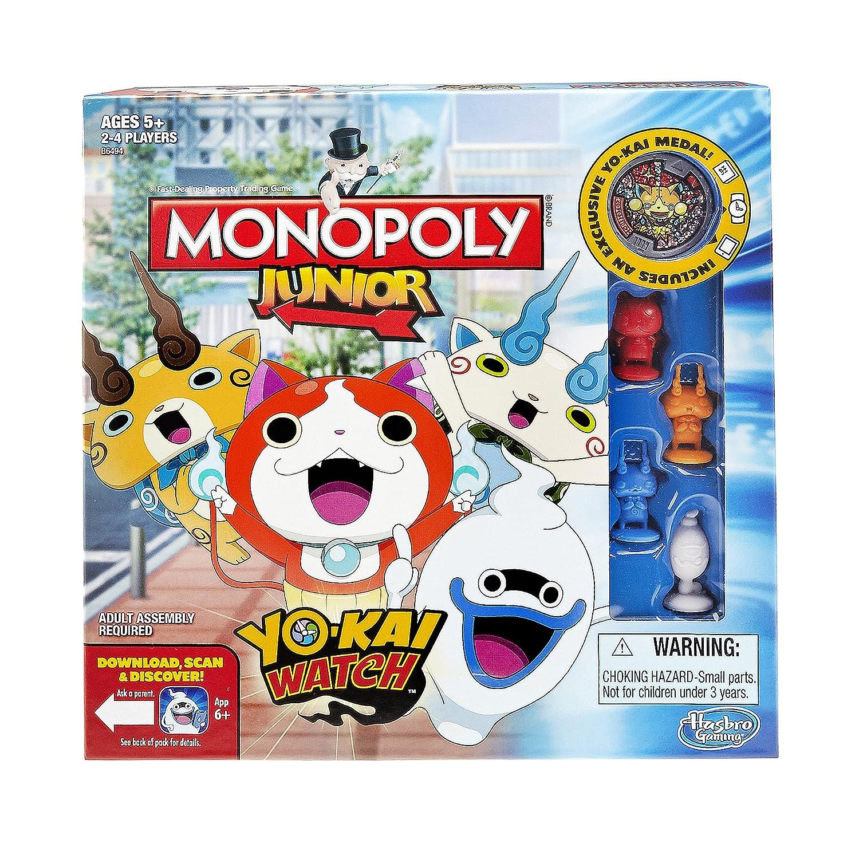 Hasbro Monopoly Junior: Yo-kai Watch Edition: Amazon.es: Juguetes y juegos