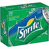 Sprite Lemon Lime Soda, 12 Ounce (20 Cans)