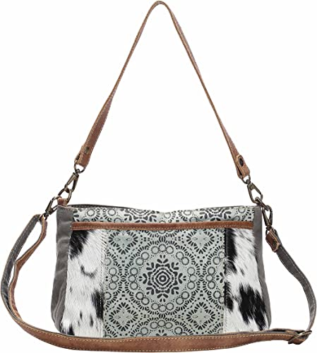 Myra Bag Dual Strap Cowhide Upcycled Canvas Bag S 1149 Brown One Size Handbags Amazon Com Find new and preloved myra bags items at up to 70% off retail prices. myra bag dual strap cowhide upcycled canvas bag s 1149 brown one size